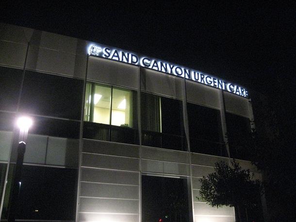 Medical Building Sign Channel Letters Irvine CA